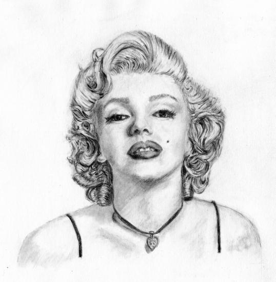Marilyn Monroe by alexandrakim